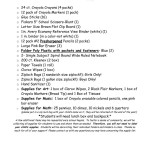 thumbnail of 1st Grade Student Supply List 2017-2018